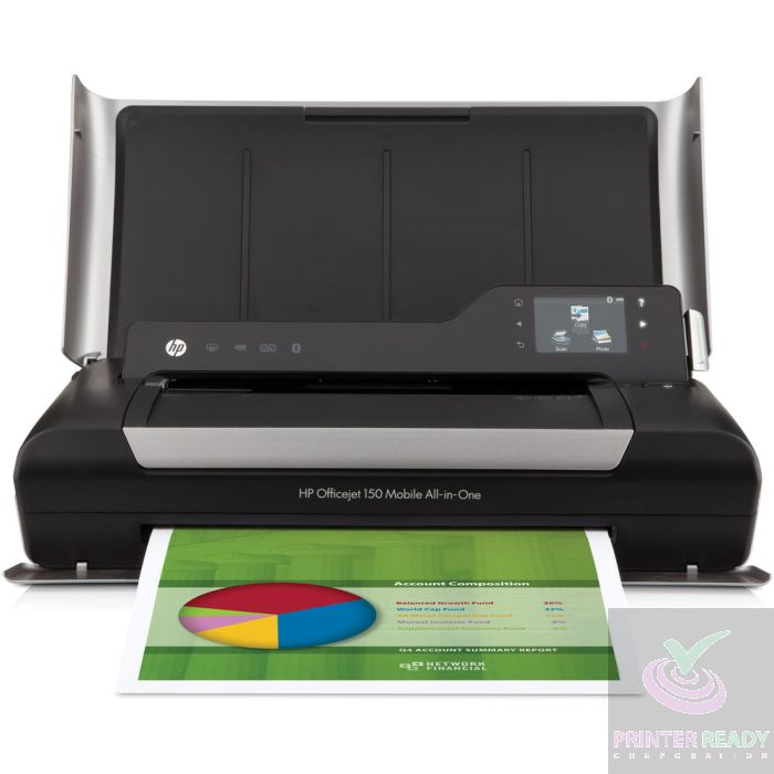 Hp Officejet 150 Mobile All In One Printer L511a With Bluetooth Usb Ink And Power Cord
